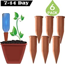 Plant Self Watering Spikes Automatic Terracotta Watering Stakes for Vacation Plant Watering Device Self Irrigation Watering System Perfect Plant Nanny for Indoor & Outdoor Plants