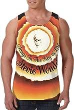 CarterH Stevie Wonder Songs in The Key of Life Men's Basic Vest Tank Top Jersey