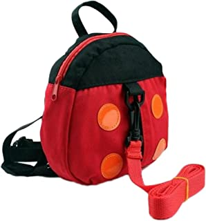 Bullidea Anti-lost Backpack Kids Toddler Walking Safety Harness School Bag Cartoon Pattern with Removable Padded Strap