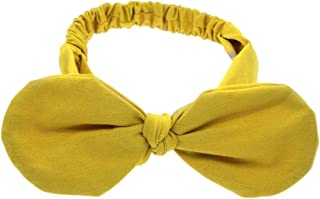 Jewelry - Practical Cartoon Cute Baby Cotton Headband,Colour:Yellow (Color : Yellow)