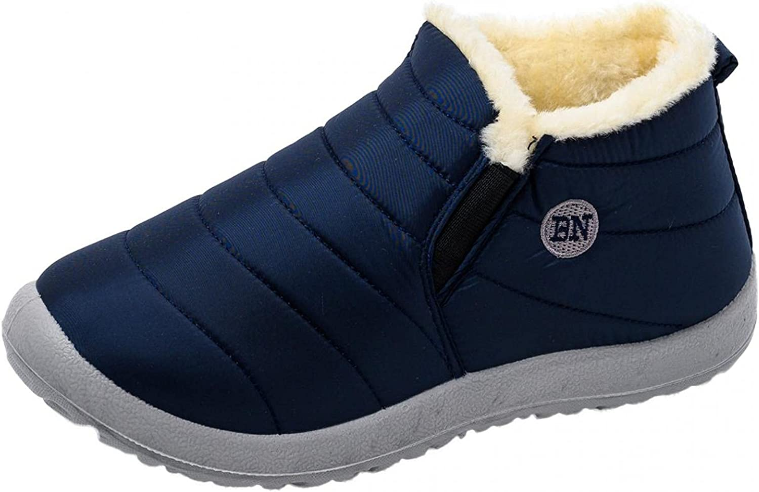 Gyouanime Shoes Womens Snow Boots Non-Slip Flat Plus Velvet Boot