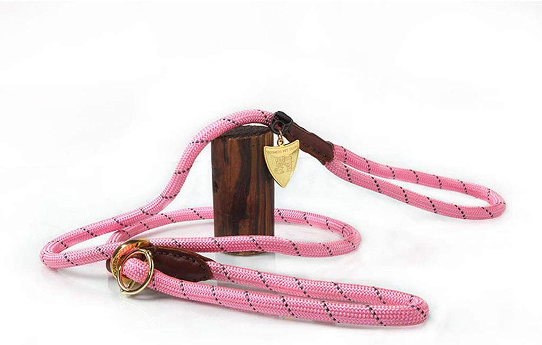 Pets Lead Hands Free Premium Running Dog Cat Leash Soft Barrel Handle Animals Training Leash Rope. (color   A)