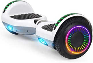 """Felimoda Hoverboard, 6.5"""" Self Balancing Hoverboard with Two-Wheel and LED Light for Kids & Adult, UL2272 Certified"""