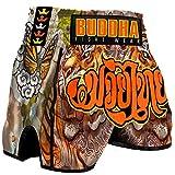 Pantalón Muay Thai Kick Boxing Buddha Retro Tiger