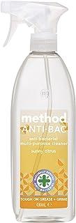 Method Antibacterial Multi Purpose Cleaner Spray, Sunny Citrus Fragrance, 490 ml