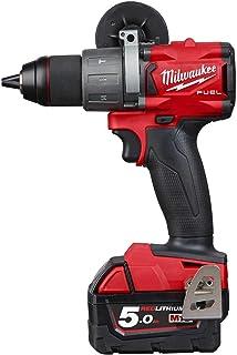 Milwaukee M18 FPD2-502X 4933464264 M18FPD2-502X 18v 2x5.0ah Li-ion Percussion Drill, 18 V