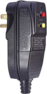 GFCI Replacement Plug for Pressure Washer Pool Pump 15Amp 3 Prong Circuit Breaker Outdoor Waterproof Auto-reset 120Volt
