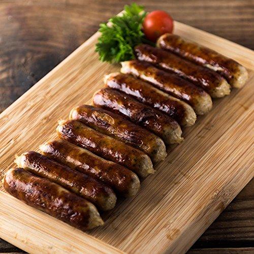 Howe's Uncured Nuremberg Bratwurst IGP (Bavarian Breakfast Links) (7 ounce)