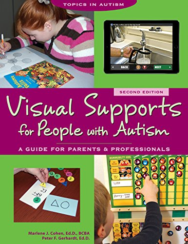 Visual Supports For People With Autism A Guide For Parents And Professionals Topics In Autism