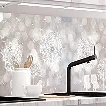 Küchennischen Deko 68 BETON GLANZ Glas OPTIK Wand Küchen Möbel Schutz Wandschutz