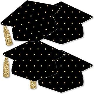 Gold - Tassel Worth The Hassle - Grad Cap Decorations DIY Graduation Party Essentials - Set of 20