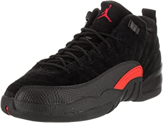 Jordan Nike Kid's Air 12 Retro Low BG Basketball Shoe