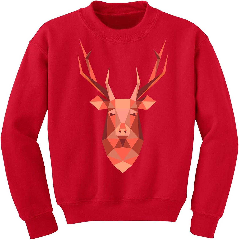 Awkward Styles Ugly Christmas Sweater for Boys Girls Kids Youth Pink Xmas Deer Sweatshirt