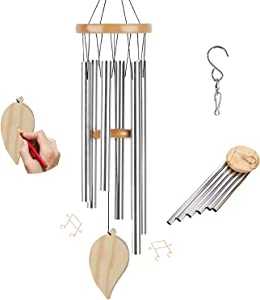 TFZBA Wind Chimes for Outside Memorial Wind Chimes with Hook Pendant DIY Wind Chime for Outdoor Home House Patio Garden Decor