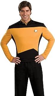 Rubie's Star Trek The Next Generation Deluxe Lt. Commander Data Adult Costume Shirt