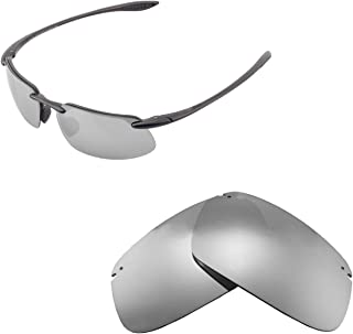 Walleva Replacement Lenses for Maui Jim Kanaha Sunglasses - Multiple Options Available