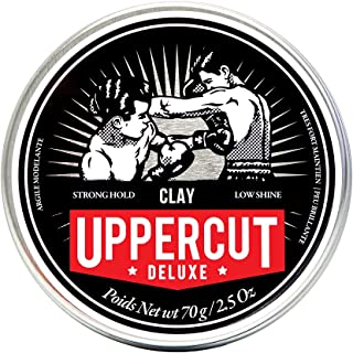 Uppercut Deluxe Texturising Matt Clay Hair Styling Product With A Low Shine Natural Looking Finish Water Based Hair Wax Fo...