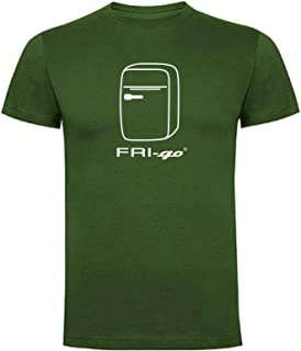 FRI-go T-Shirt Travel Model con Logo - Stampa in Italia 2018