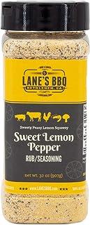 Sweet Lemon Pepper Rub   Seasoning   All Natural   No MSG   No Preservatives (16oz)