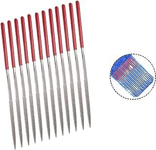 "Rannb Diamond Needle Files Triangle Shape 160mm/6.3"" Length - 10pcs"