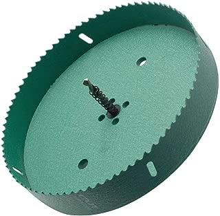 LICTOP 200mm/7.87'' BI -Metal Wood Hole Saws Bit Tooth Cutting for Cornhole Board Metal Plastic Fiberboard,Green
