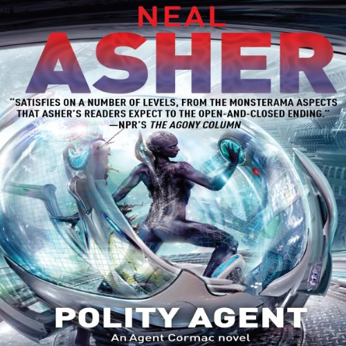 Polity Agent audiobook cover art