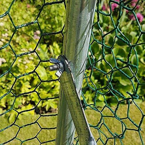 FeelGoodUK 2m x 3m Walk In Hundehütte Pen Run Außen Übung Cage - CAGE 04 DE - 6