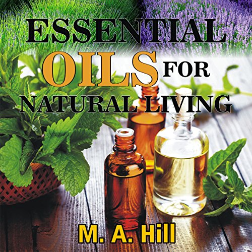『Essential Oils for Natural Living』のカバーアート