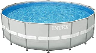 Intex 28336 Big Round Frame Pool 549 х 132cm Outside Swimming Pool for Party with Pump Filter