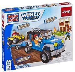 A Mega Bloks Jeep set.