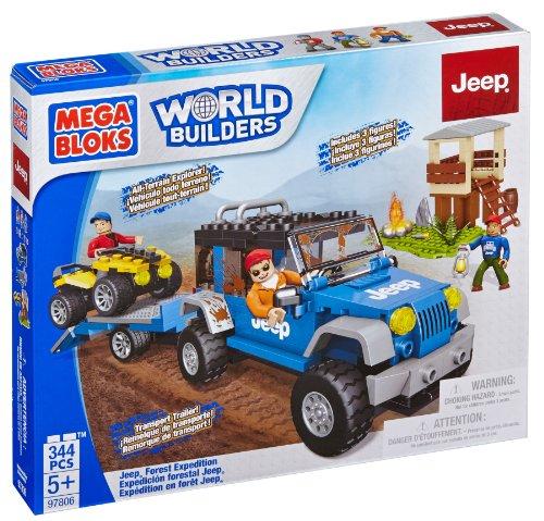 First Builders - Jeep exploración en el Bosque (Mega Bloks 97806)