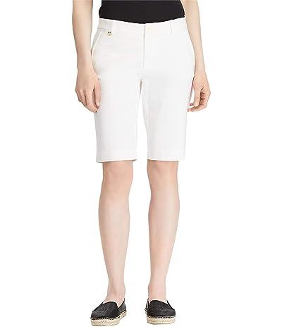LAUREN Ralph Lauren Stretch Cotton Shorts Women