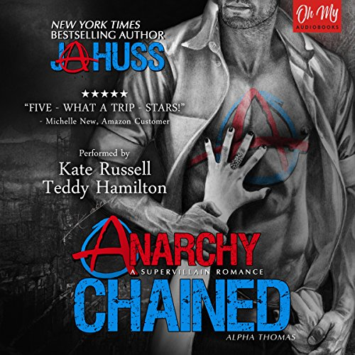 Anarchy Chained audiobook cover art