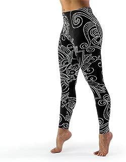 Women High Waist Yoga Legging Compression Pants for Pilates Gym