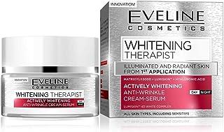 EVELINE WHITENING THERAPIST DAY AND NIGHT CREAM-SERUM 50ML