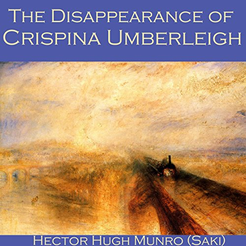 The Disappearance of Crispina Umberleigh audiobook cover art