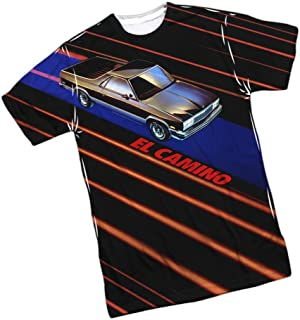 El Camino - Chevrolet All-Over Front Print Sports Fabric T-Shirt
