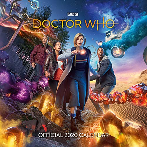 Doctor Who - 2020 Official Square Wall Format Calendar