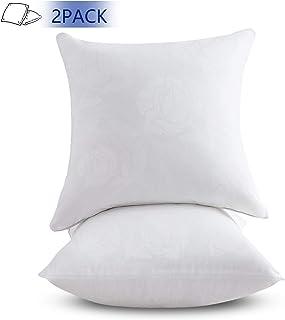 Emolli 24 x 24 Pillow Inserts Set of 2, Throw Pillow Inserts Premium Stuffer Down Alternative,Super Soft Microfiber Filled Decorative Pillow Cushion