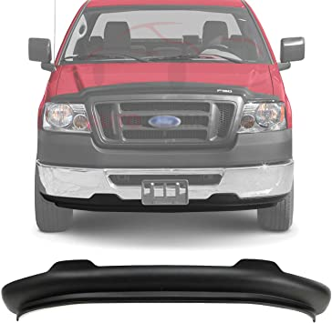 Amazon Com Autoelementss New Front Lower Valance Spoiler Textured Plaic Without Tow Hook Holes For 2007 2008 Ford F 150 2wd Direct Replacement 6l3z17626aaa Automotive