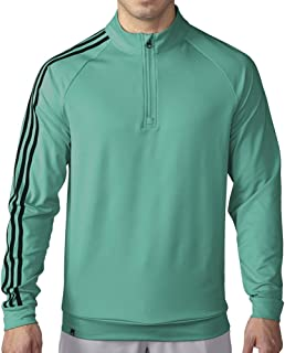 adidas Golf Men's 3-Stripes 1/4 Zip Layering Top