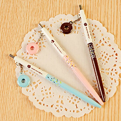 MiiSii(TM) 8pcs Cute Novelty Cartoon Honey Pie 0.5mm Refill Mechanical Pencils Set