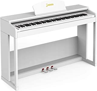 LAGRIMA LG-803 88-Key Weighted Hammer Action Digital Piano w