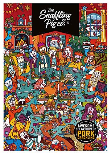 Snaffling Pig 2020 Pork Scratching Advent Calendar - Ultimate Pork Crackling Advent