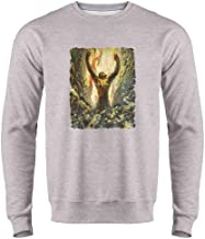 Reign of Wizardry by Frank Frazetta Art Mens Fleece Crew Sweatshirt