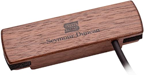 high quality Seymour Duncan Woody HC SA-3HC high quality high quality Hum-Canceling Acoustic Soundhole Pickup - Walnut outlet online sale