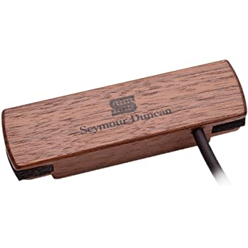 Seymour Duncan Woody HC SA-3HC Hum-Canceling Acoustic Soundhole Pickup - Walnut