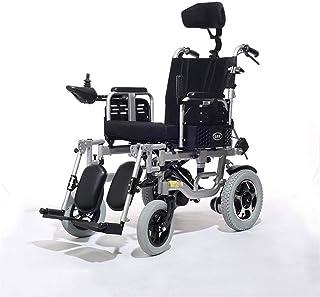 Sillas de ruedas eléctricas para adultos Silla de ruedas silla de ruedas, silla de rehabilitación médica for la tercera edad, los ancianos, los viajes motorizados de ruedas eléctrica, con tecnología d