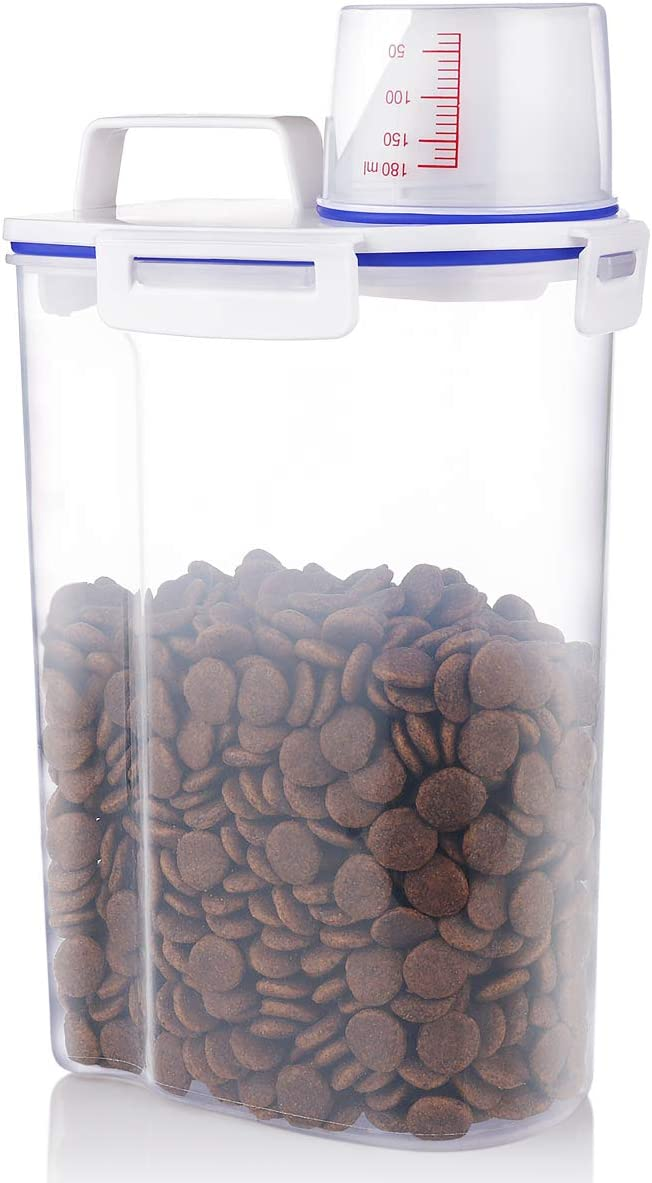 Kytely Upgraded Small Trust Dog Food Indefinitely Airtight Cat Container D Storage