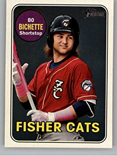 2018 Topps Heritage Minor League Baseball #54 Bo Bichette New Hampshire Fisher Cats Official MILB Trading Card